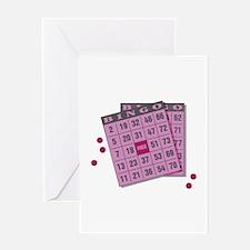Bingo Cards Greeting Card