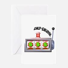 Cha-Ching! Slots! Greeting Card