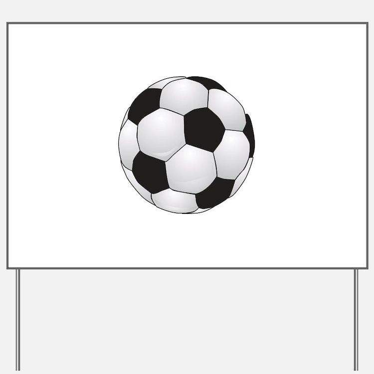Soccerball II Yard Sign
