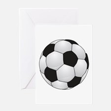 Soccerball II Greeting Card