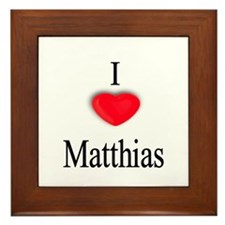 Matthias Framed Tile