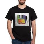 Old School Floppy Disk Dark T-Shirt