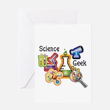 Science Geek Greeting Card