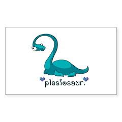 Plesiosaur Decal