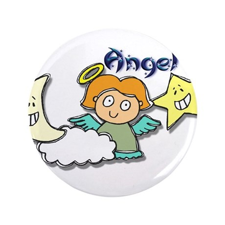 """Little Angel 3.5"""" Button"""