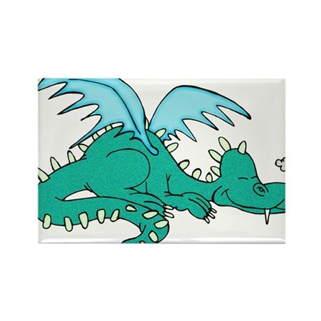 Baby Dragon Rectangle Magnet (100 pack)