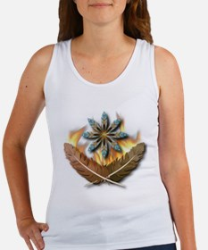 Native Feathers Women's Tank Top