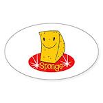Sponge Sticker (Oval 50 pk)