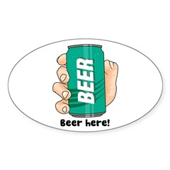 Beer Here Decal