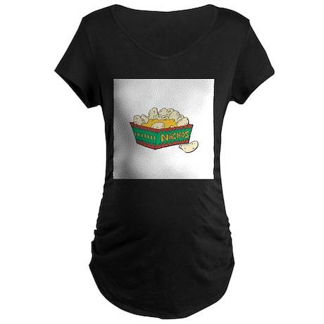 Nachos Maternity Dark T-Shirt