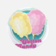 "Cotton Candy 3.5"" Button"