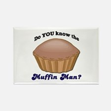 Muffin Man Rectangle Magnet (100 pack)
