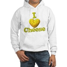 funny cute i heart love cheese cheesey heart Hoode