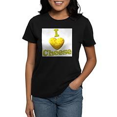 funny cute i heart love cheese cheesey heart Women