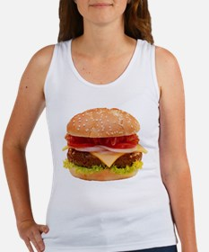 yummy cheeseburger photo Women's Tank Top