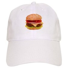 yummy cheeseburger photo Baseball Baseball Cap