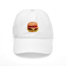 yummy cheeseburger photo Baseball Cap
