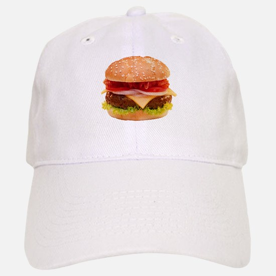 yummy cheeseburger photo Cap