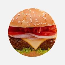 "yummy cheeseburger photo 3.5"" Button"