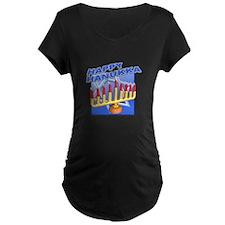 Happy Hanukka Menora T-Shirt