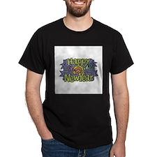 Happy New Year Cheer Design T-Shirt