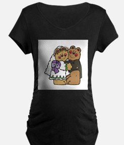 Country Style Bride and Groom T-Shirt