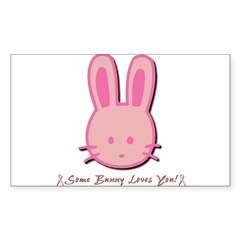 Breast Cancer Bunny Decal