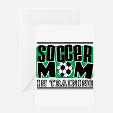 Soccer Mom In Training Greeting Card
