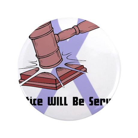 """Domestic Violence Justice 3.5"""" Button (100 pa"""