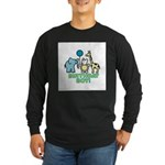 Birthday Boy Long Sleeve Dark T-Shirt