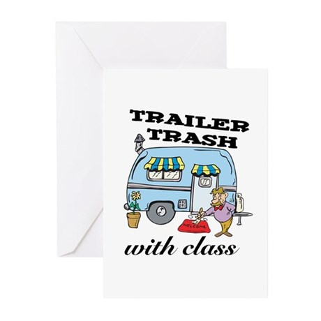 Trailer Trash with Class Greeting Cards (Pk of 20)