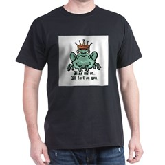 Kiss Me or I'll Fart Frog T-Shirt