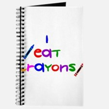 I eat crayons Journal