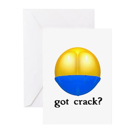 Got (Butt) Crack? Greeting Cards (Pk of 20)