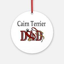 Cairn Terrier Dad Ornament (Round)