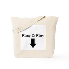Plug and Play Tote Bag