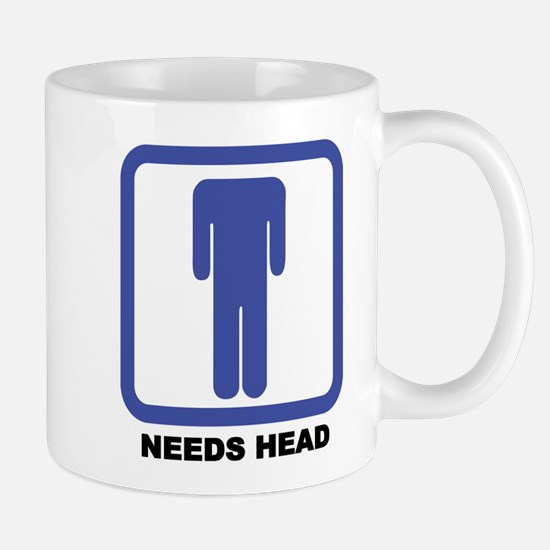Needs Head Mug