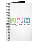 Peace, Love, Porties Journal