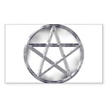Pentacle Sticker (Rectangle 10 pk)