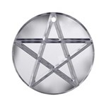 Pentacle Ornament (Round)