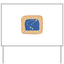 Capricorn Constellation Desig Yard Sign