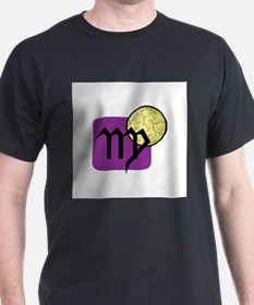 Virgo Symbol with Moon T-Shirt