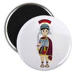 Cute Roman Soldier Magnet
