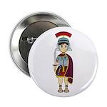 "Cute Roman Soldier 2.25"" Button"