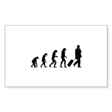 Evolution businessman Decal