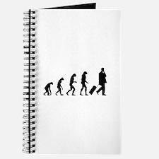 Evolution businessman Journal