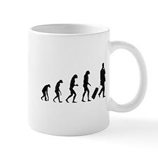 Evolution businessman Mug