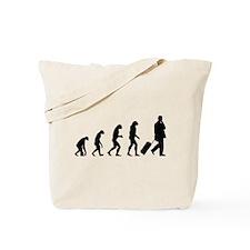 Evolution businessman Tote Bag