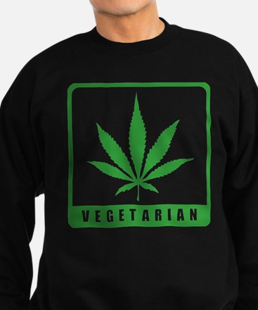 Vegetarian Sweatshirt (dark)