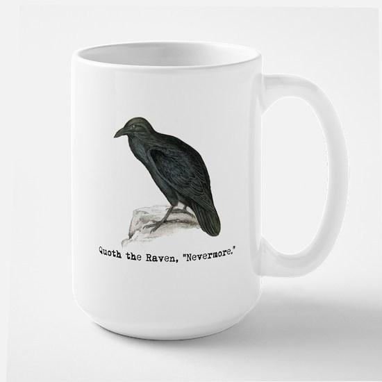 Edgar Allen Poe Large Mug